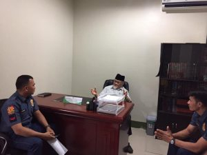 Cotabato City Police Coordinate with The Mufti to Police 'Extremisms' in this City