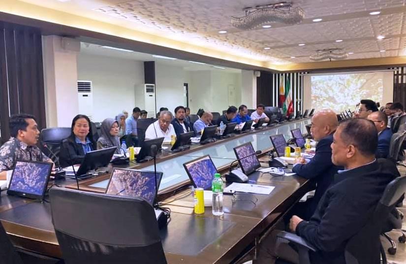 Regional Da'rul-Ifta'-BARMM participated in the Key Leaders' Meeting