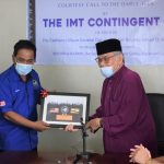Courtesy call to the Darul-Ifta' by the IMT contingent 16